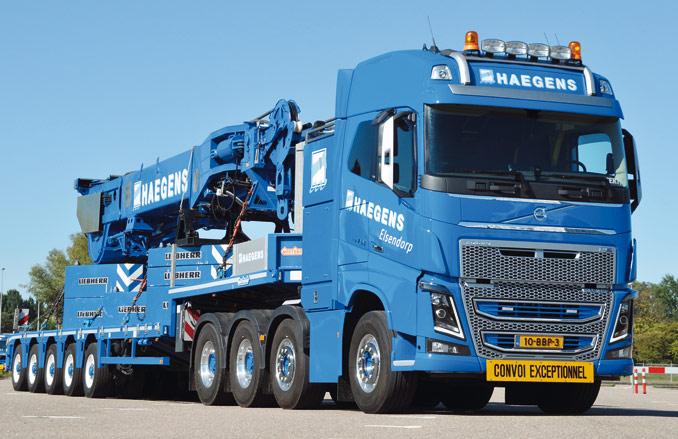 Volvo FH 16.750 8×4 wyposażone jest wnajmocniejszy (750-konny) whistorii firmy silnik opojemności skokowej 16 l (fot.© Volvo)