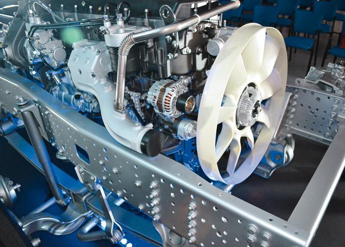 Zastosowanie układu Hi-SCR gwarantuje utrzymanie wysokiego wskaźnika konwersji tlenków azotu wukładzie wydechowym napoziomie 97%