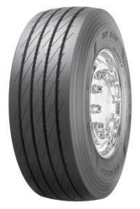 Opony Dunlop SP246 naoś naczepową uzupełnią gamę nowych opon (fot.Goodyear)